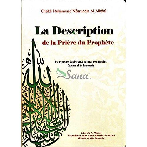 La description de la priere du prophete