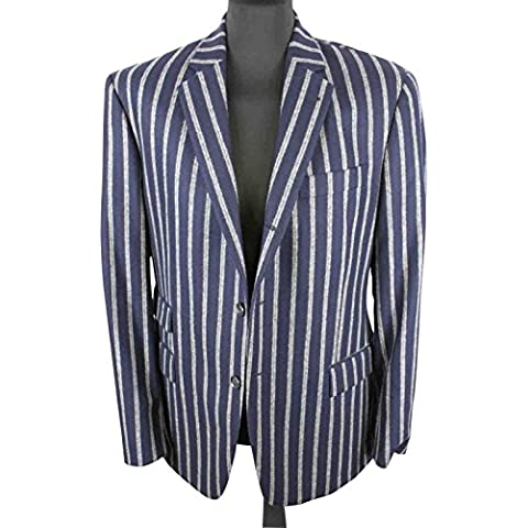 Hackett para hombre Blazer chaqueta de hípica para niños o cama de matrimonio de los deportes de 42R/de lana Exclusive 52R 100% H124