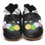 Chaussons Bébé en cuir doux - Chenille - 12/18 mois