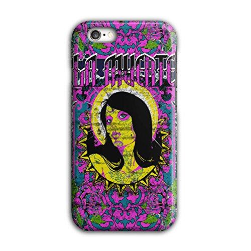 La Muerte Heilig Zombie Modell Schmollmund iPhone 6 / 6S Hülle   (Muerte Kostüme La)