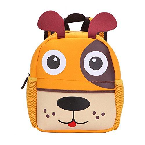 Imagen de dafenq lindo animal la  de jardín de infantes embroma la bolsa de la escuela de la taleguilla bolso de escuela para bebé niño niña perro