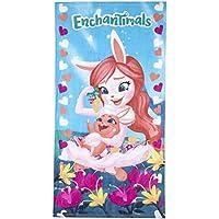 Disney Toalla de baño de algodón Enchantimals Secado rápido, Ultra Suave, tamaño Grande,