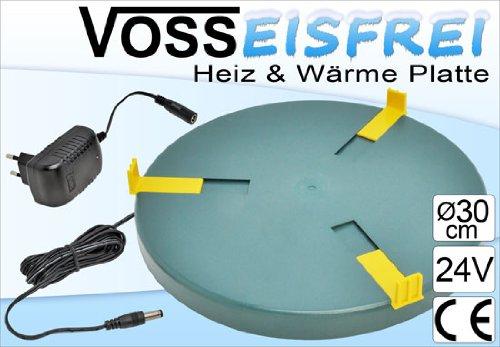 Heizplatte für Tränkenwärmer Tränkenheizung , 30cm, inkl. Netzteil 24V/ 28W