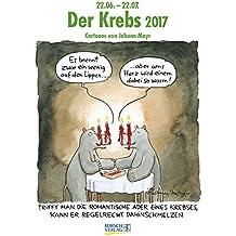 Krebs 2017: Sternzeichen-Cartoonkalender