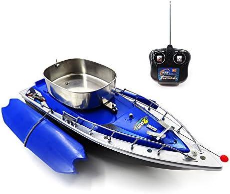 Goolsky Flytec Intelligent sans Fil Électrique RC Pêche Bateau à appt TélécomFemmede Fish Finder Navire  light Jouets | Divers Les Types Et Les Styles