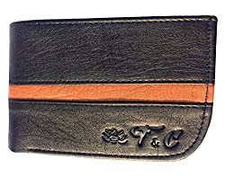 mens leather wallet, mans wallet, mens wallets leather_FC 03 Black