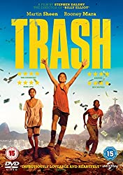 Trash [DVD] [2015]
