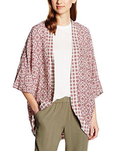 b.young Juliette kimono-Giacca Donna Rosso