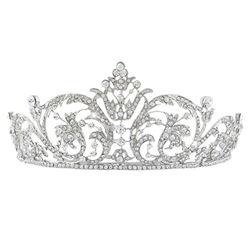 ever-faith-austriaco-di-cristallo-art-deco-fiore-sposa-priness-crown-tiara-silver-tone-n04243-1