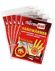 Thermopad 5 Paires de chauffe-mains