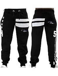 Redrum Jogginghose Sweatpants Sport Hose Baumwolle schwarz Modell goetze