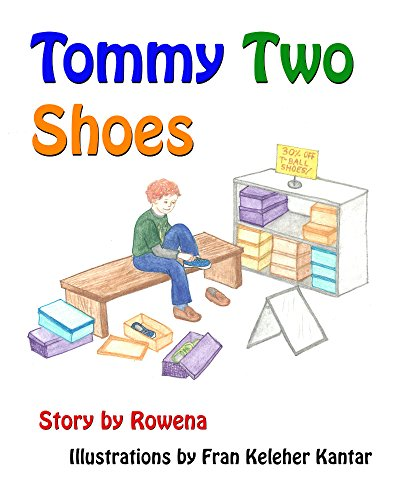 Tommy Two Shoes (English Edition) por Rowena Womack