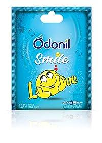 Odonil Smile Bathroom and Car Freshener - 10 g (Love)