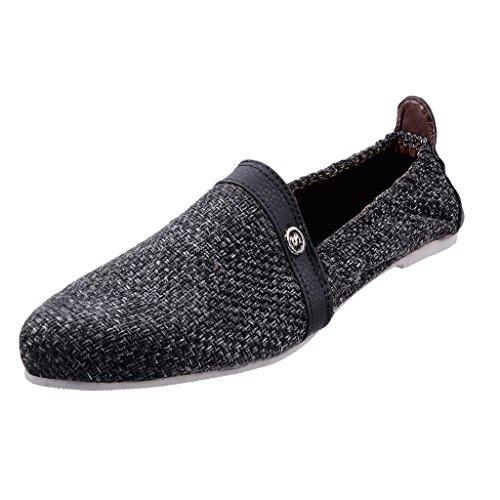 Kashish Men's Jute Loafers