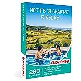 EMOZIONE3 - Cofanetto Regalo - NOTTE DI CHARME E RELAX - 280 soggiorni in rilassanti agriturismi, B&B e hotel 3 stelle