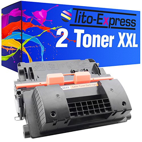 P4015 P4515 Serie (Tito-Express PlatinumSerie 2 Toner XXL Schwarz für HP P4515 P4015N P4015DN P4015TN P4015X P4515 CC364X 64X)