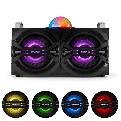 auna-disgo-box-265-sistema-de-audio-para-fiestas-altavoz-porttil-bluetooth-usb-con-micrfono-inalmbri