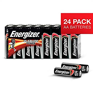 Energizer Classic AA 24 - pk, Alcalino, 1.5 V, 23 g, 14.5 mm, 50.5 mm, 14.5 mm (B000IWXV7Y) | Amazon Products