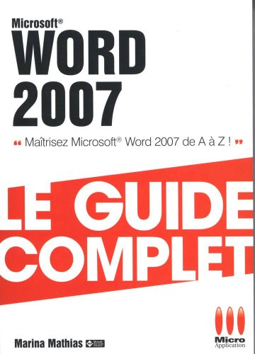 COMPLET WORD 2007