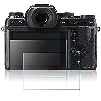 Films de Protection d'Ecran pour Fujifilm X-T1 X-T2, AFUNTA 2 Paquets de Protecteur de Caméra en Verre Trempé Optique XT2 XT1