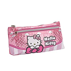 Karactermania Hello Kitty Bow Estuches, 22 cm, Rosa
