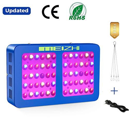 MEIZHI 300W LED Pflanzenlampe Reflektor LED Grow Lampe Vollspektrum für Zimmerpflanzen Schaltbar Gemüse und Blumen mit Daisy Chain