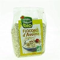 Terres et céréales flocons avoine bio 500g - Prix Unitare - Livraison Gratuit Sous 3 Jours