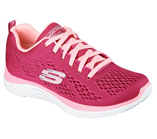 Skechers Damen Valeris Sneakers Raspberry