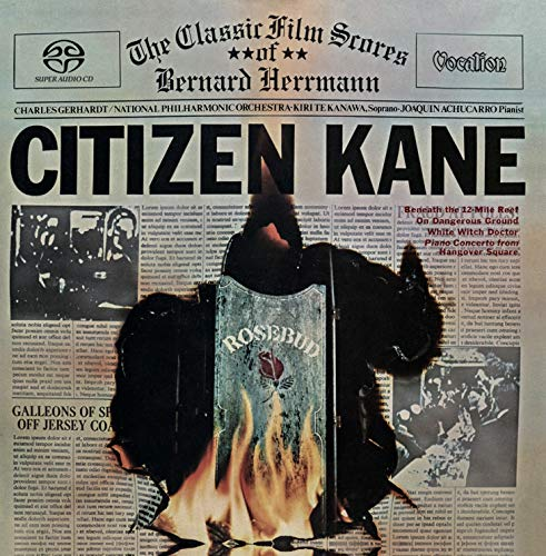 i Te Kanawa - Citizen Kane: The Classic Film Scores of Bernard Herrmann & bonus track [SACD Hybrid Multi-channel] ()