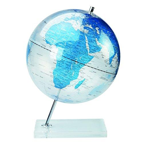 Globe terrestre - 30 cm - Plastique - Bleu