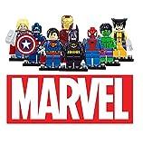 8pcsset Marvel