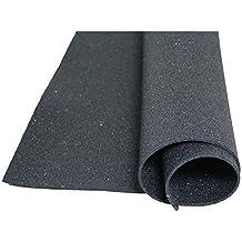 Bautenschutzmatte aus Gummigranulaten - 1m x 3m x 5mm ✓ Verrottungsfest ✓ Dauerbelastbar ✓ Elastische Antirutschmatte | Einsetzbar als Anti-Ermüdungsmatte, Bodenschutzmatte, Antivibrationsmatte