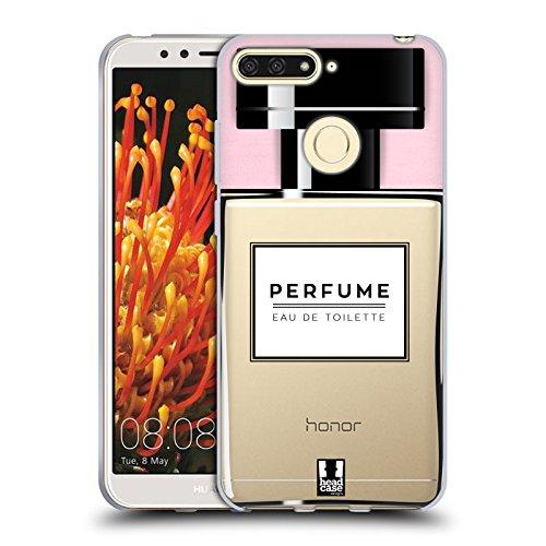Head Case Designs Parfüm Lebenswichtige Güter Soft Gel Hülle für Huawei Honor 7A Y6 Prime 2018