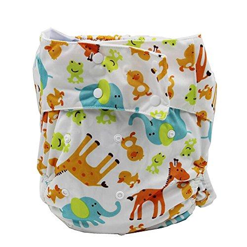 lukloy Damen Erwachsene Tuch Windeln für Inkontinenz Pflege schützende Unterwäsche–Dual Opening Pocket waschbar verstellbar wiederverwendbar leakfree