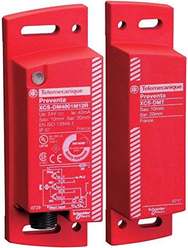 Schneider XCSDM4801M12 Cod. Magn.-Sicherheits system, SIL 3, 2 PNP Ausgänge, M12 - Magnetisches Relais