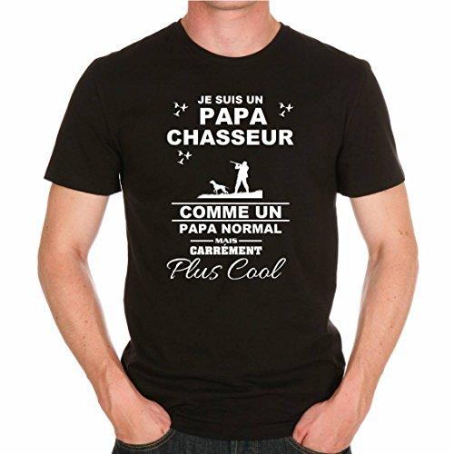 uraeus T-Shirt Je suis Un Papa Chasseur C