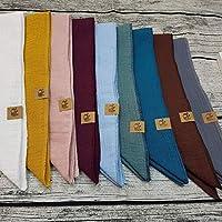 XXL Tuch Farbwahl Halstuch Musselintuch Musselin Damen Damenhalstuch Dreieckstuch Wunschfarbe personalisiert handmade Schal Herren Männer Frauen