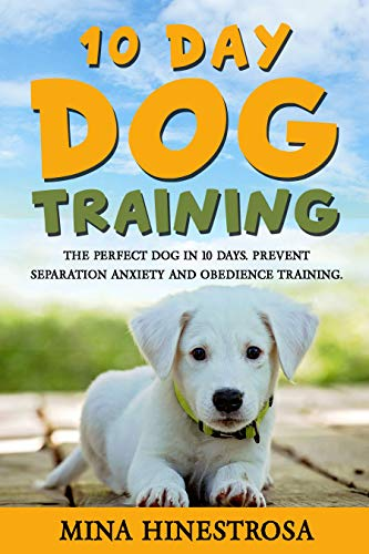10-Day Dog Training: the perfect dog in 10 days, prevent separation anxiety and obedience training. (English Edition)