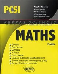 Mathématiques PCSI - 2e édition
