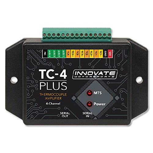 Innovate TC-4 Plus (4 Channel Thermocouple Amplifier) 4 Gauge Amplifier Kit