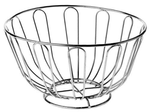 Cinziia Wire Fruit basket, cromato, 24cm