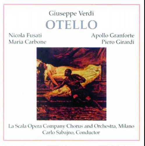 Verdi : Otello 1931/1932. Sabajno, Fusati, Granforte.
