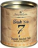 Dänisches Rauchsalz Salt No. 7 - Geräuchertes Salz als Gourmet Salz - Danish Smoked Salt – Ideal als Salz-Geschenk -