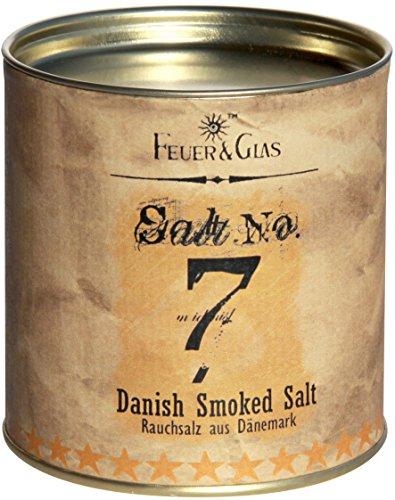 Dänisches Rauchsalz Salt No. 7 - Geräuchertes Salz als Gourmet Salz - Danish Smoked Salt – Ideal...