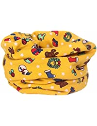 K-youth® Otoño Invierno Niños Niñas Bufanda de Collar Bebé Algodón O Anillo Bufandas de Cuello