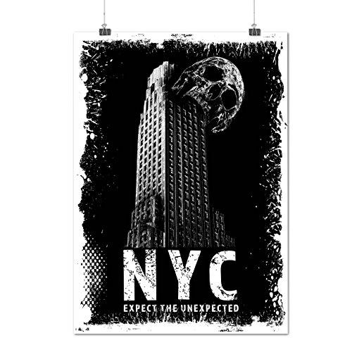 NYC Cool Entwurf Mode UNS Geist Mattes/Glänzende Plakat A3 (42cm x 30cm)   (Nyc Perücken Kostüm)