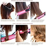 Zexmon Enterprise 2 in 1 Hair Beauty Set | Electric and Professional Hair Curler and Hair Straightener (Multi-Colour) For Girls