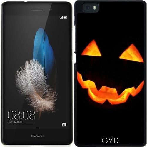 DesignedByIndependentArtists Hülle für Huawei Ascend P8 Lite (ALE-L21) - Halloween Kürbis by hera56