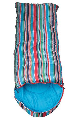5d4af8294856 Mountain Warehouse Apex Mini Patterned Sleeping Bag -Mummy Shaped ...