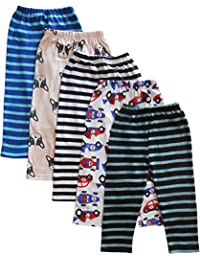 NammaBaby Baby Pajama Pant Mixed Prints - Set of 5